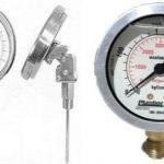 Manômetros Vacuometros Termometros